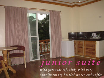 junior suite features